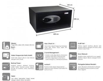 Daftar Harga Safe Deposit Box